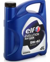 Моторное масло ELF EVOLUTION 900 SXR 5W-40 (4L)