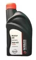 Моторное масло VA Motor Oil NISSAN 5W-40 (1л)