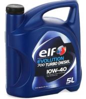 Моторное масло ELF EVOLUTION 700 TURBO DIESEL 10W-40  (5L)