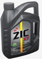 Дизельное моторное масло ZIC 10W-40  X7 Diesel Cl-4, 4л