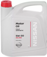 Моторное масло Nissan Motor Oil 5W30, 5л