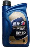 Моторное масло ELF  EVOLUTION 5W30 FULL TECH MSX  C3 (1L)