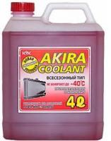 Антифриз Akira Coolant -40 красный  4л