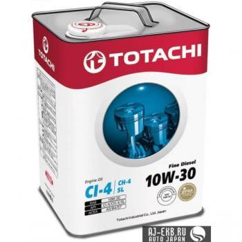 Моторное масло TOTACHI Fine  Diesel  CI-4/CH-4/SL  10W-30, 6л