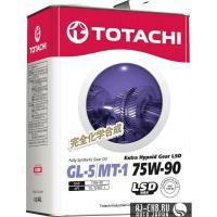 Масло трансмиссионное TOTACHI Extra Hypoid Gear LSD GL-5 75W90 4л