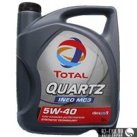 Моторное масло TOTAL QUARTZ INEO MC3 5W-40 (5L)
