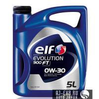 Моторное масло ELF EVOLUTION 900 FT 0W-30 (5L)