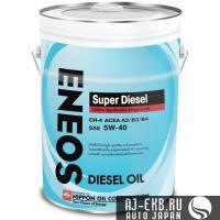 Масло моторное ENEOS Super Diesel CH-4 Синтетика 5W40 20л