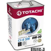 Моторное масло  TOTACHI  Premium Economy Diesel  Fully Synthetic  CJ-4/SM     0W-30      6л