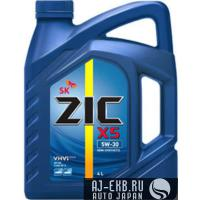 Моторное масло ZIC  5W-30  X5, 4л