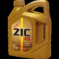 Моторное масло ZIC 5W-30  X9 LS,4л