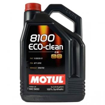 Моторное масло MOTUL 8100 Eco Clean 5w 30, 5л