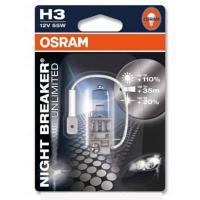 Автолампа OSRAM H3  NIGHT BREAKER UNLIMITED +110%