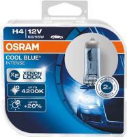 Автолампа OSRAM H4  COOL BLUE intens 4200K (2шт)