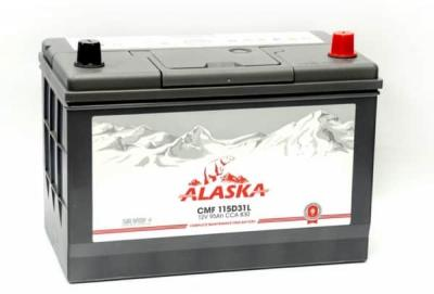 Аккумулятор  ALASKA CMF 95 115D31L silver+