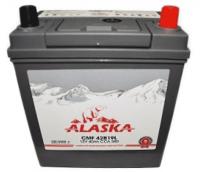 Аккумулятор ALASKA CMF 40 42B19L silver+