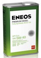 Масло моторное ENEOS Premium Diesel CI-4 Синтетика 5W40 1л
