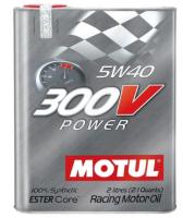 Моторное масло MOTUL 300 V Power 5w 40, 2л