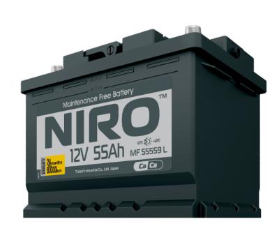 Аккумулятор TOTACHI  NIRO MF 55559, 55а/ч L