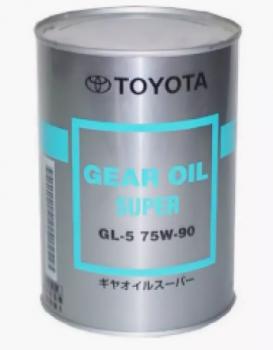 Жидкость для дифференциалов  TOYOTA GEAR OIL SUPER SAE 75W90 API GL-5 (1л)
