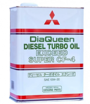 Моторное масло Mitsubishi Diesel Turbo Oil 10w30 CF-4 4л