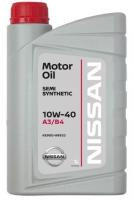 Моторное масло Nissan Motor Oil 10W-40, 1л.