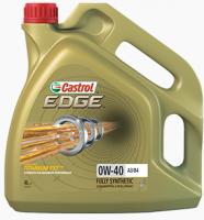 Моторное масло CASTROL EDGE 0W-40 A3/B4 4л