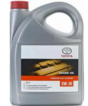 Масло моторное TOYOTA 5W30 Premium Fuel Economy 5 л