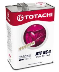 Масло для вариатора TOTACHI ATF NS-3 синт. 4л