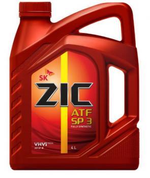 Масло трансмиссионное ZIC ATF SP 3, 4л