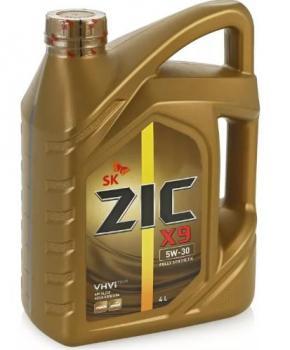 Моторное масло ZIC   5W-30  X9 SL/CF, 4л