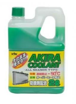 Антифриз  AKIRA COOLANT -50 зеленый 2л