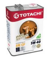 Моторное масло TOTACHI 5W40 Grand  Touring Fully Synthetic  SN , 4л