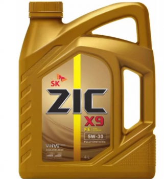 Моторное масло ZIC  5W-30  X9 FE, 4л