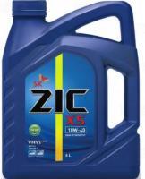 Моторное дизельное масло ZIC 10W-40  X5 Diesel Cl-4, 6л