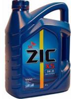Моторное масло ZIC 10W-40  X5, 6л