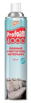 Очиститель интерьера Profoam 4000, пенный, 780мл