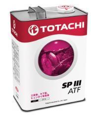 Жидкость для АКПП TOTACHI ATF SPIII синт. 4л