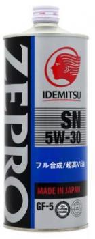 Моторное масло IDEMITSU ZEPRO TOURING   5W30 1л