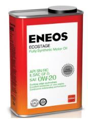 Моторное масло ENEOS 0W20 Ecostage SN Синтетика , 0,94л