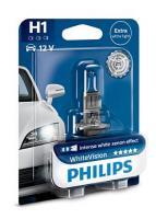 Автолампа PHILIPS   H1 12V 55W White Vision 4300К (блистер)