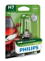 Автолампа PHILIPS H7 12V 55W  LLEco (блистер)