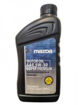 Моторное масло MAZDA Motor Oil 5w-30 Super Premium