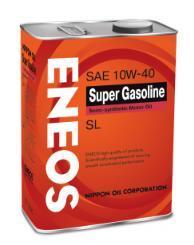 Масло моторное ENEOS 10W40  Super Gasoline SL п\синт 4л