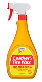 Полироль универсальный (кож.,рез.,пласт.) Leather & Tire Wax, 500мл
