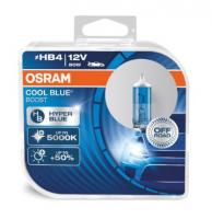 Автолампа OSRAM HB4 12V 80W COOL BLUE BOOST 5000К  (2шт)