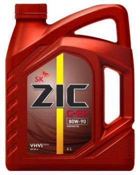 Масло трансмиссионное ZIC 80w90  G-EP GL-4, 4л