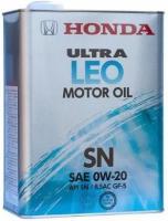Масло моторное Honda Ultra LEO SN/GF-5 0W-20, 4л