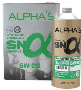 Моторное масло SUMICO (ALPHAS) 5W20 SN/GF-5, 1л