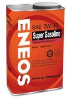 Масло моторное ENEOS 5W30  Super Gasoline SL п\синт 0,94л